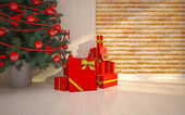 Christmas interior details — Stock Photo