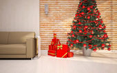 Christmas interior details — Stockfoto