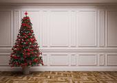 Classic Christmas interior — Stockfoto