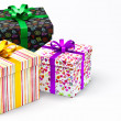 Valentine gifts boxes — Stock Photo