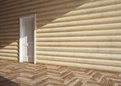 Wooden house interior — Stockfoto