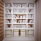 Bookcase — Foto Stock