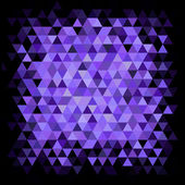 Abstract purple mosaic — Stock Vector