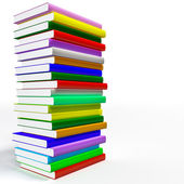 Color books — Stock Photo