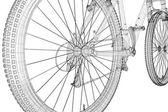 山の自転車 — ストック写真