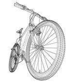 Vélo de montagne — Photo