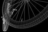 Mountainbike — Stockfoto