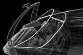 на катере, превышение скорости катер — Стоковое фото