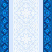 Embroidery.Ukrainian nationale ornament — Stockvector