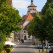 Street in Rothenburg on Tauber - Stock Photo