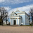 "Lutheran Church ""Johanneksen Kirkko"" in Hamina — Stock Photo"