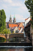 Nuremberg landscape — Stock Photo