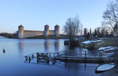 Olavinlinna Castle, Finland — Stock Photo