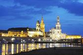 Night Dresden — Stock Photo