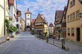 Rothenburg ob der tauber, tyskland — Stockfoto