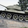Stock Photo: Battle Tank, which has become monument.