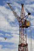 Crane against the sky. — Stock Photo