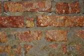Wet brick wall. — Stock Photo