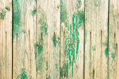 Peeling wooden fence. — Stock Photo