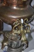 Antique copper samovar. — Stock Photo