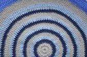 Round rug handmade. — ストック写真