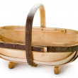 Traditional sussex gardening trug — Stock Photo