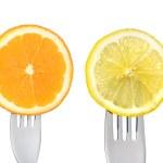 Oranges and lemons — Stock Photo