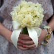 Daffodil wedding bouquet — Stock Photo