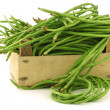 Stock Photo: Fresh long beans(Vignunguiculatsubsp. sesquipedalis)