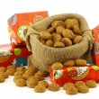 "Stock Photo: Bunch of Dutch ""pepernoten"" eaten at Dutch festivities around december 5th called ""Sinterklaas"""