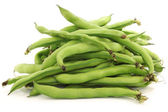 Bunch of broad beans — Stock Photo
