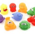 多彩的沐浴玩具集合 — 图库照片 #45650627