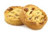 焼きたてのリンゴとナッツのケーキ — ストック写真
