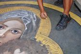Madonnaro — Stock Photo