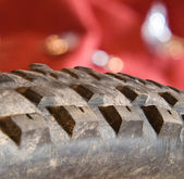 MTB Tire — Stock Photo