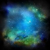 The Galaxy — Stock Vector