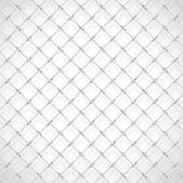 Football goal net — Stock Vector