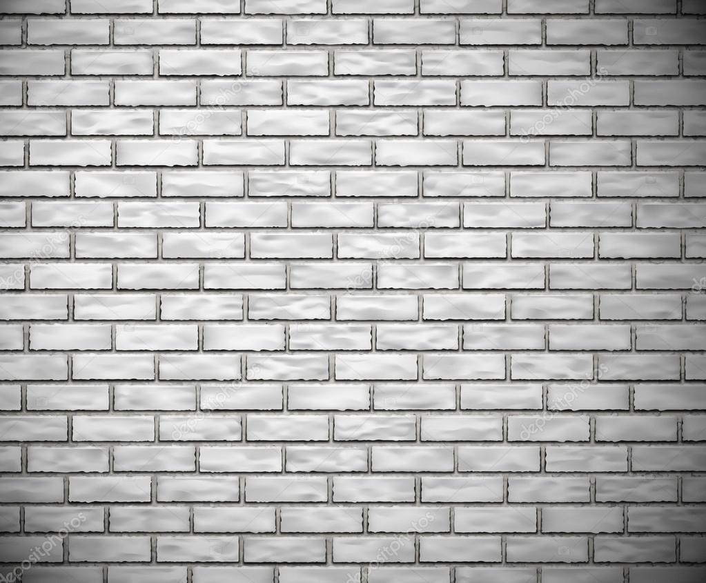 mur de briques blanches image vectorielle 18411095. Black Bedroom Furniture Sets. Home Design Ideas