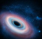 Black hole — Stock Vector