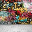 Graffiti on wall — Stock Vector #31929473