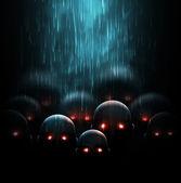 Zombie apocalypse — Stock Vector