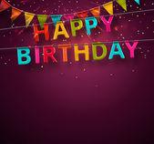 Buon compleanno! — Vettoriale Stock