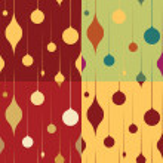 Christmas Seamless Patterns — Stock Vector #8898228