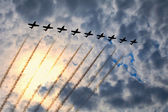Letecké show — Stock fotografie
