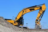 Bulldozer Excavator — Stock Photo