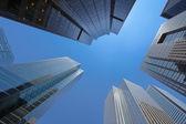 Downtown sky — Stock Photo