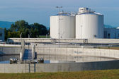 Sewage treatment — Stock Photo