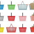 Shopping baskets — Stock Vector #30534187