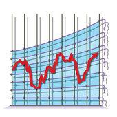 被曲解的经济 — 图库矢量图片