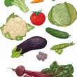Vegetables I — Stock Vector #13684581